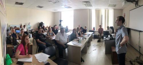 Мастер класс Ильи Анищенко на круглом столе профайлеров и полиграфологов