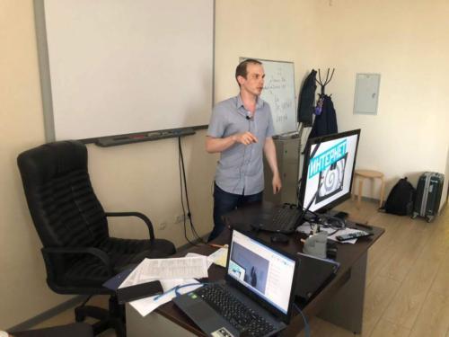 Мастер класс Ильи Анищенко на круглом столе экспертов во лжи в Москве