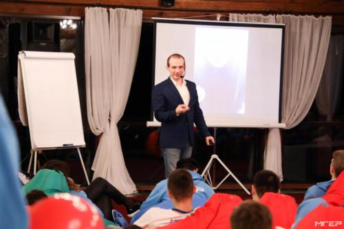 Мастер класс Ильи Анищенко на форуме МГЭР