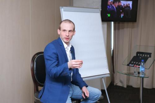 Мастер класс Ильи Анищенко для клуба «Бизнес среда»