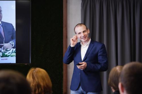 Мастер класс Ильи Анищенко для Ростелекома