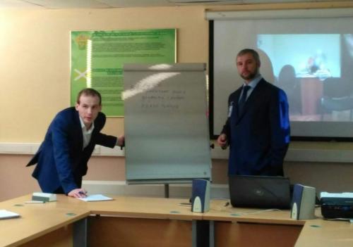 Обучение инспекторов таможенного поста аэропорта Кольцово