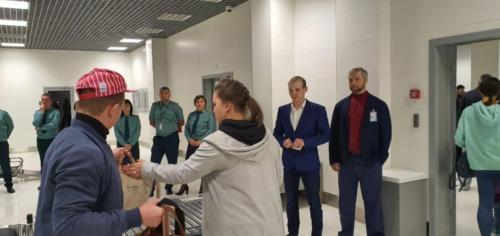 Обучение профайлеров в аэропорту Тюмени